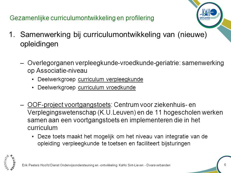 Belemmerende factoren 5.De structuur van het Vlaams hoger onderwijs: het Vlaamse onderscheid tussen professionele en academische bachelors: –Belemmert de doorstroming van professionele bachelors naar masteropleidingen.
