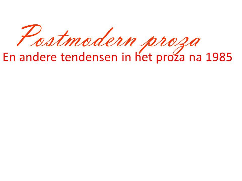 Modernisme versus Pomo.