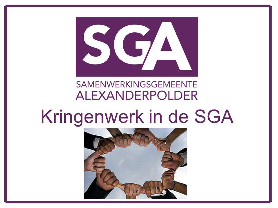 Kringenwerk in de SGA