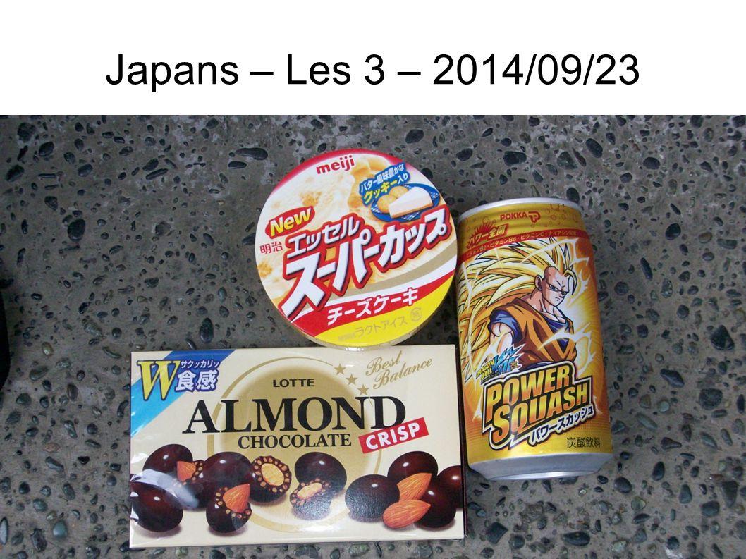 Japans – Les 3 – 2014/09/23