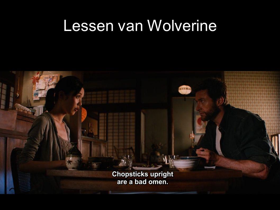 Lessen van Wolverine