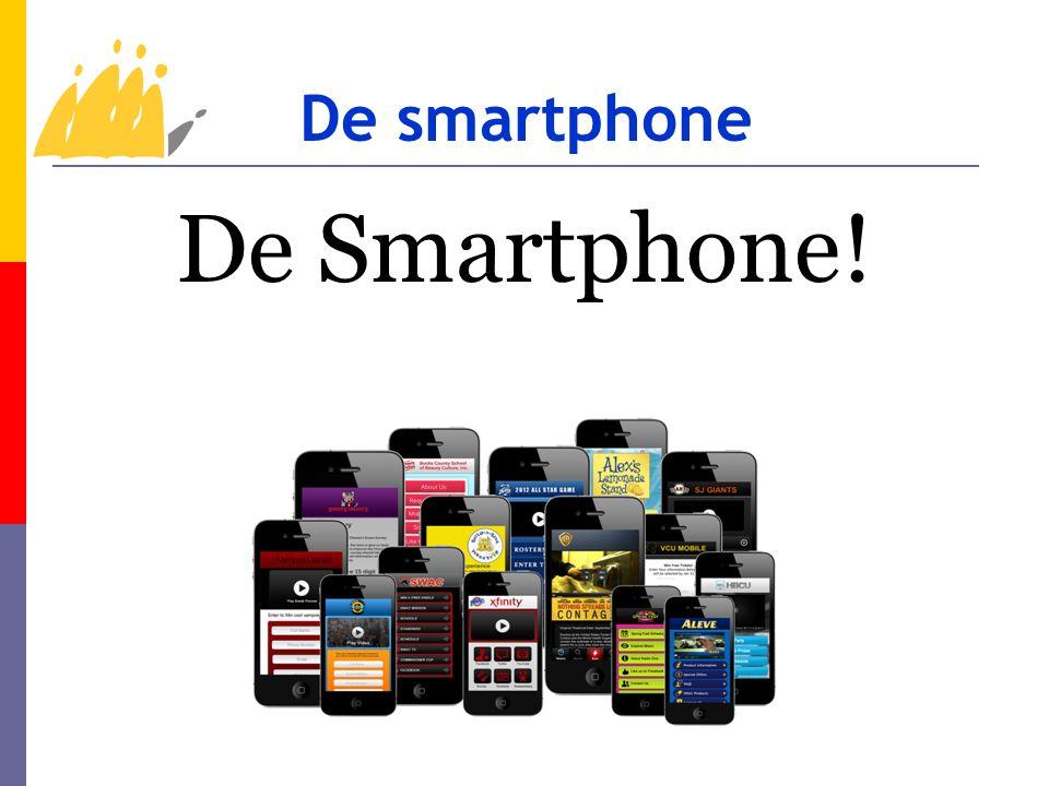 Wat kan je met een smartphone doen.- Surfen op internet.