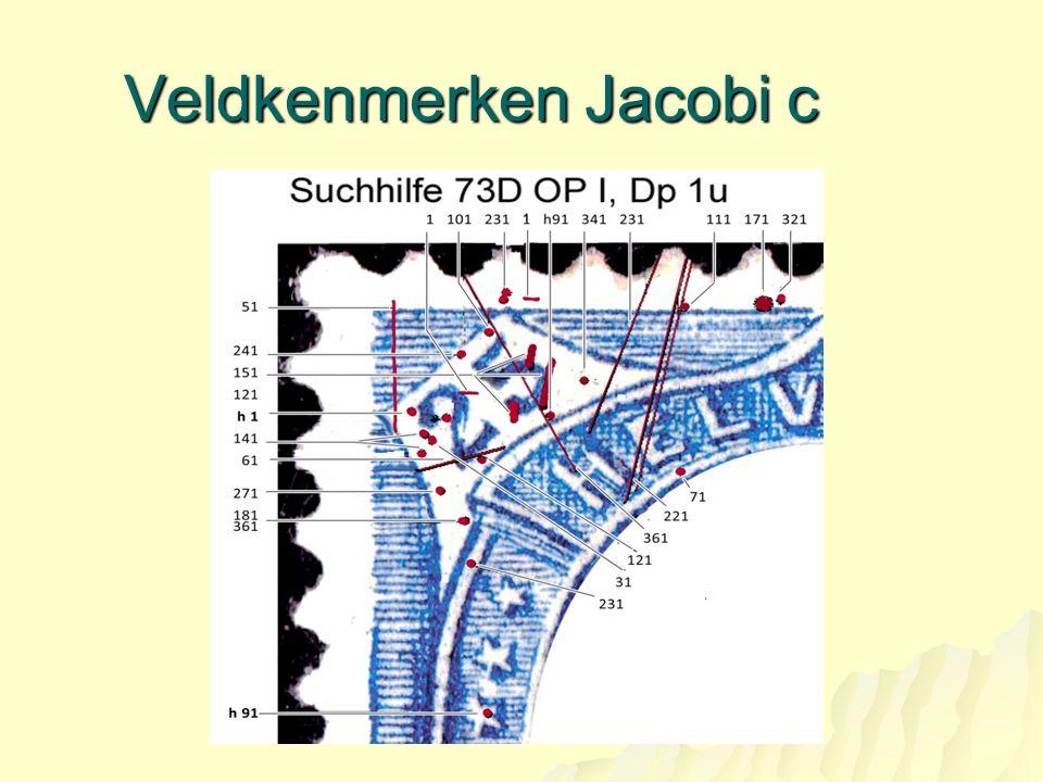 Veldkenmerken Jacobi c