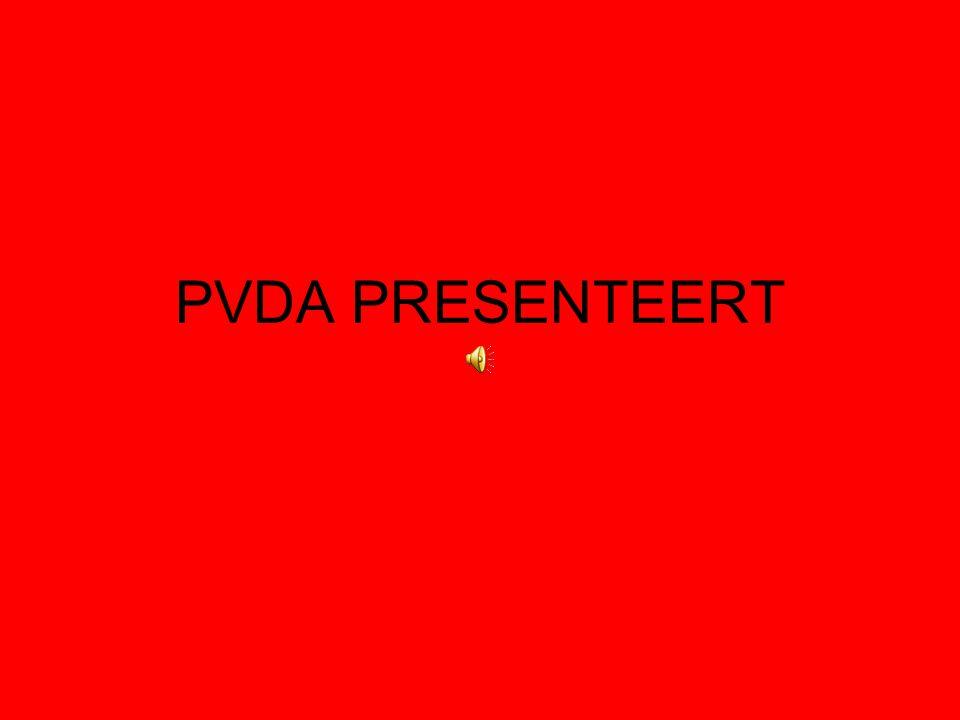 PVDA PRESENTEERT