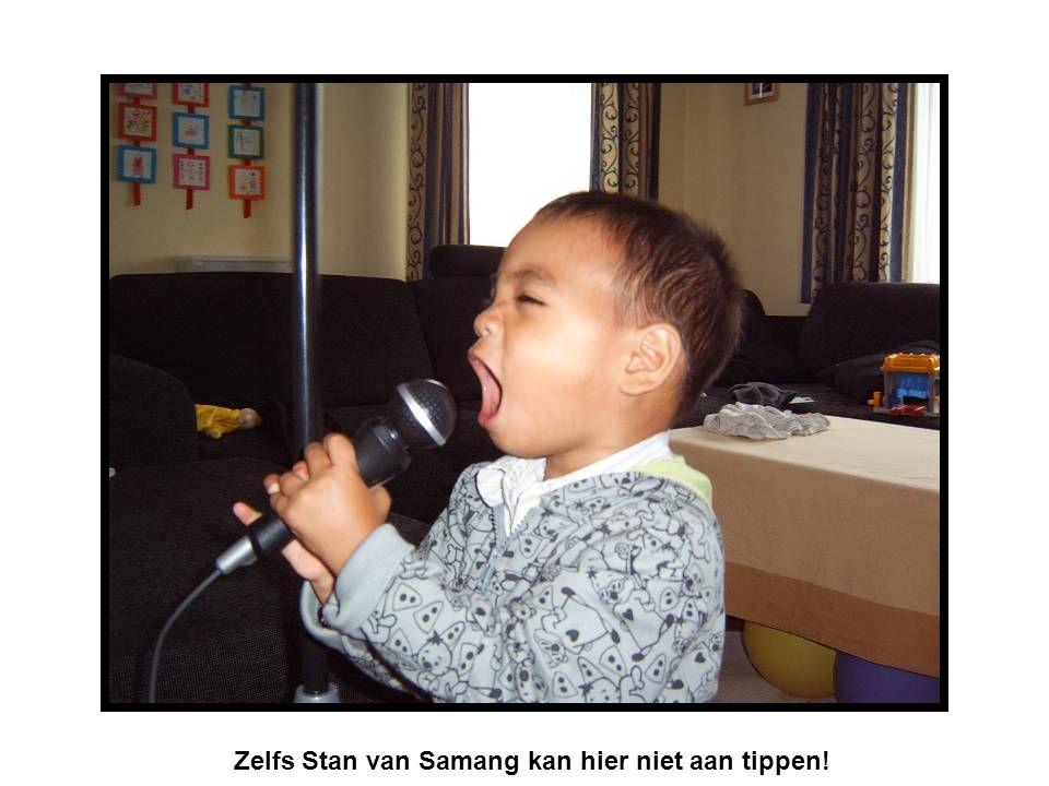 Zelfs Stan van Samang kan hier niet aan tippen!