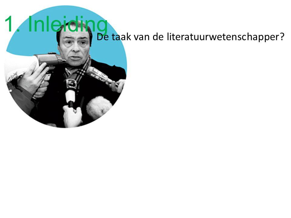Vorige colleges Intentionaliteit ter discussie De lezer kent betekenis toe aan teksten De incoherence turn De taak van de literatuurwetenschapper?