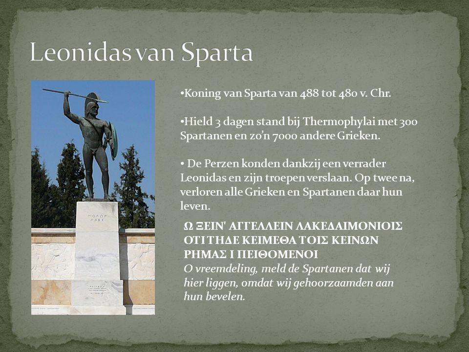 Overwinaar bij de Slag bij Marathon (490 v.Chr.) Overwinnaar bij Salamis (479 v.