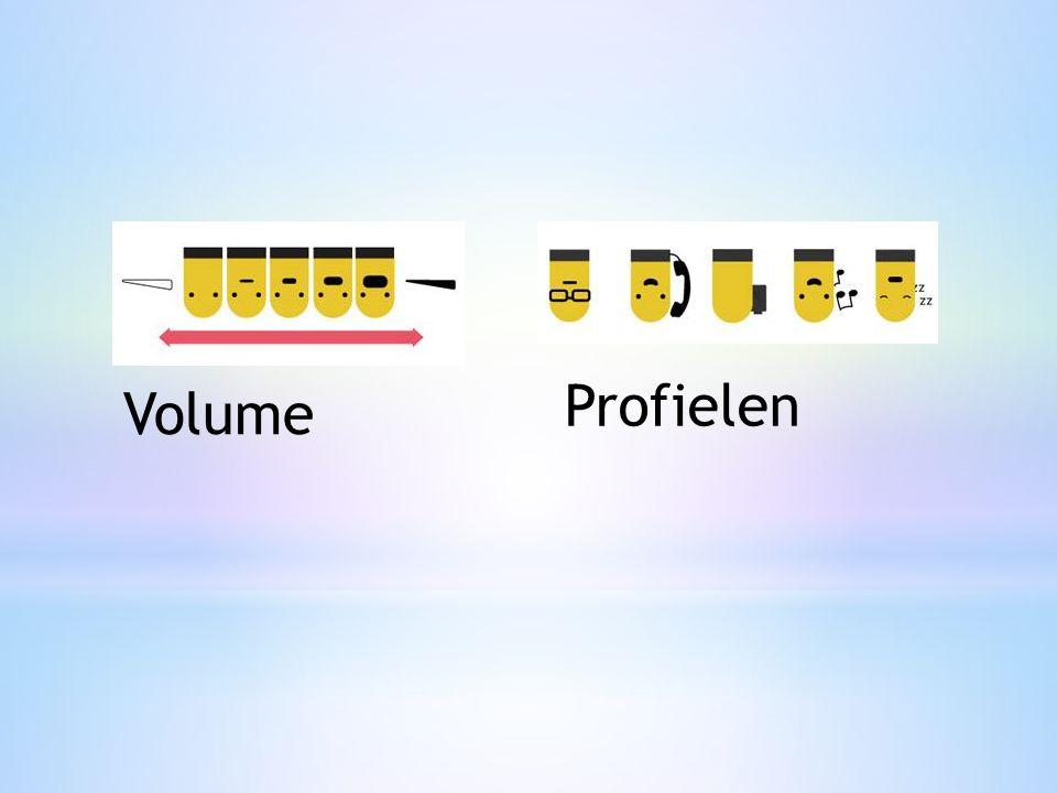 Volume Profielen