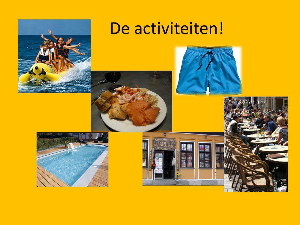 De activiteiten!