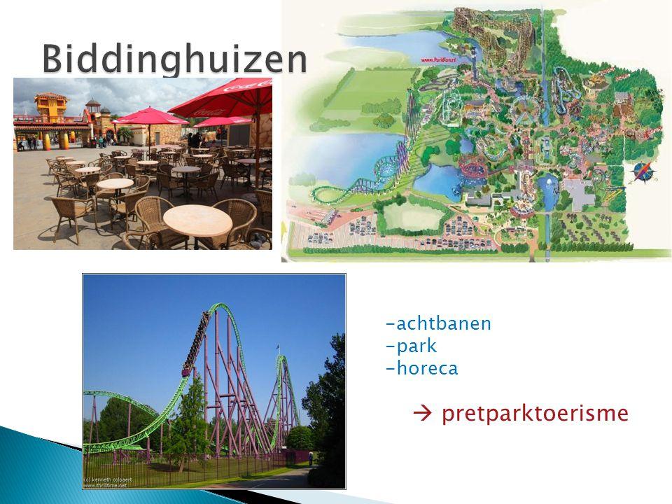 -achtbanen -park -horeca  pretparktoerisme