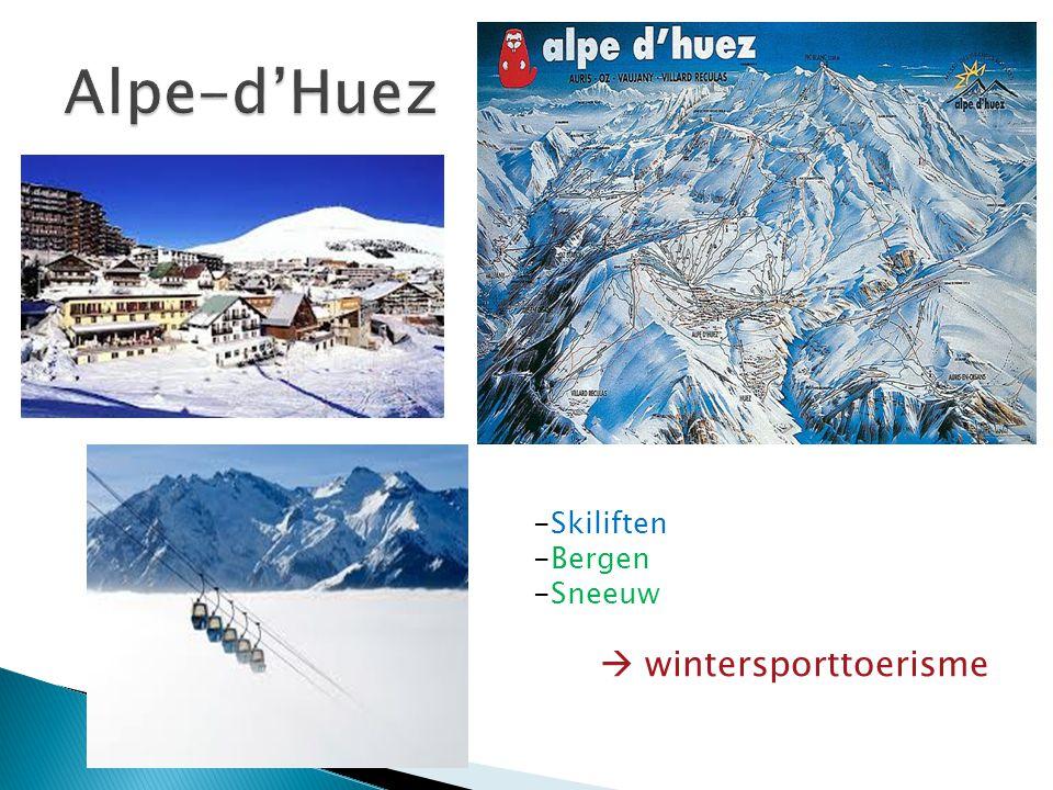 -Skiliften -Bergen -Sneeuw  wintersporttoerisme