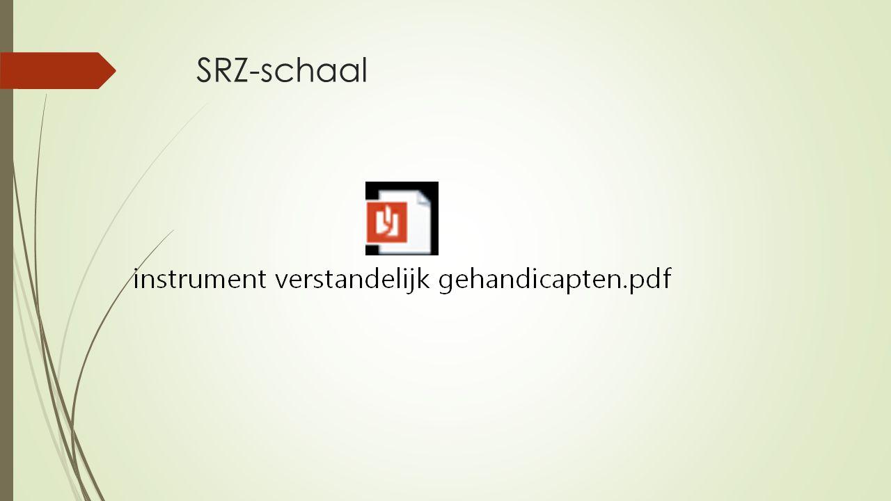 SRZ-schaal