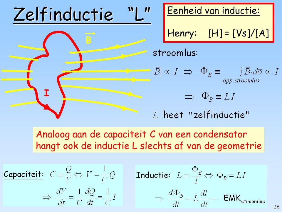 25 Zelfinductie Definitie Voorbeelden Toroïde Solenoïde Coaxiale kabel