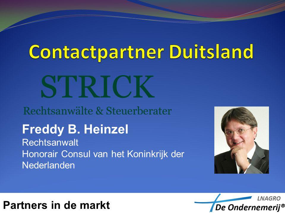 Freddy B. Heinzel Rechtsanwalt Honorair Consul van het Koninkrijk der Nederlanden
