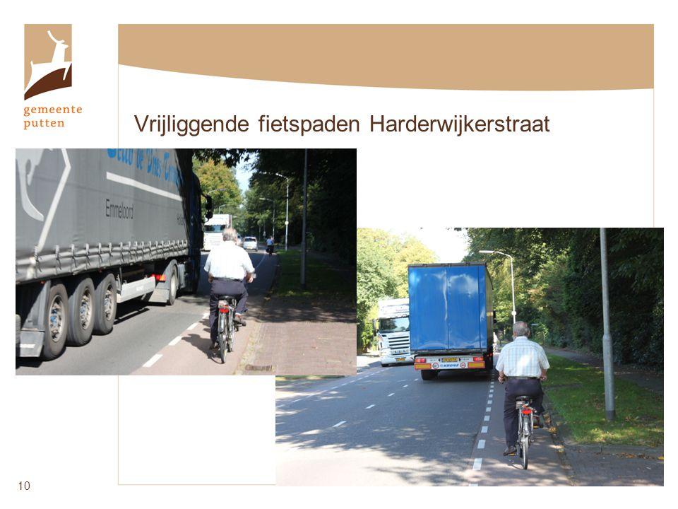 Vrijliggende fietspaden Harderwijkerstraat 10