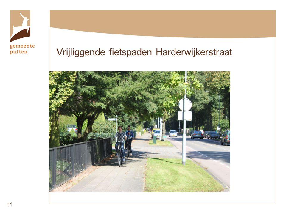 Vrijliggende fietspaden Harderwijkerstraat 11