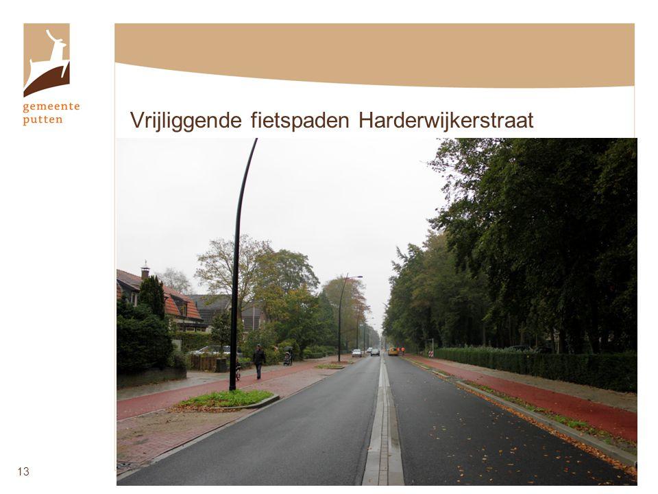 Vrijliggende fietspaden Harderwijkerstraat 13