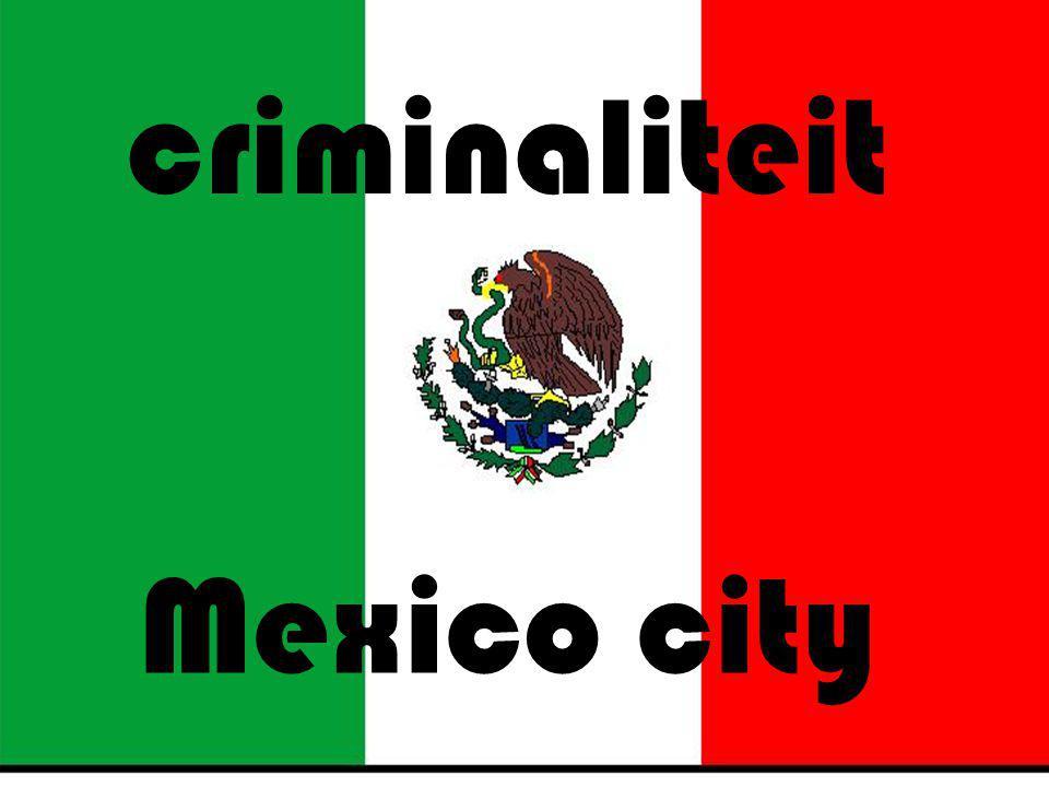 inleiding Overvallen Criminaliteit Politie in mexico Miguel over politie