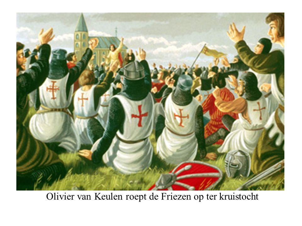 Olivier van Keulen roept de Friezen op ter kruistocht