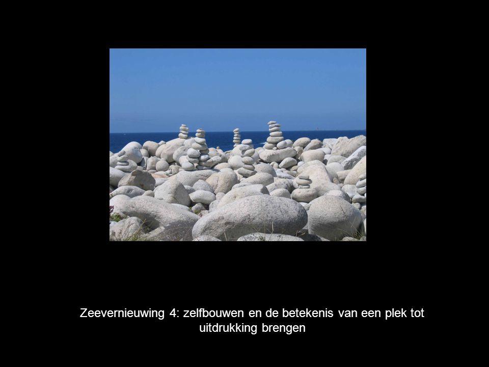 Zeevernieuwing 4: zelfbouwen en de betekenis van een plek tot uitdrukking brengen
