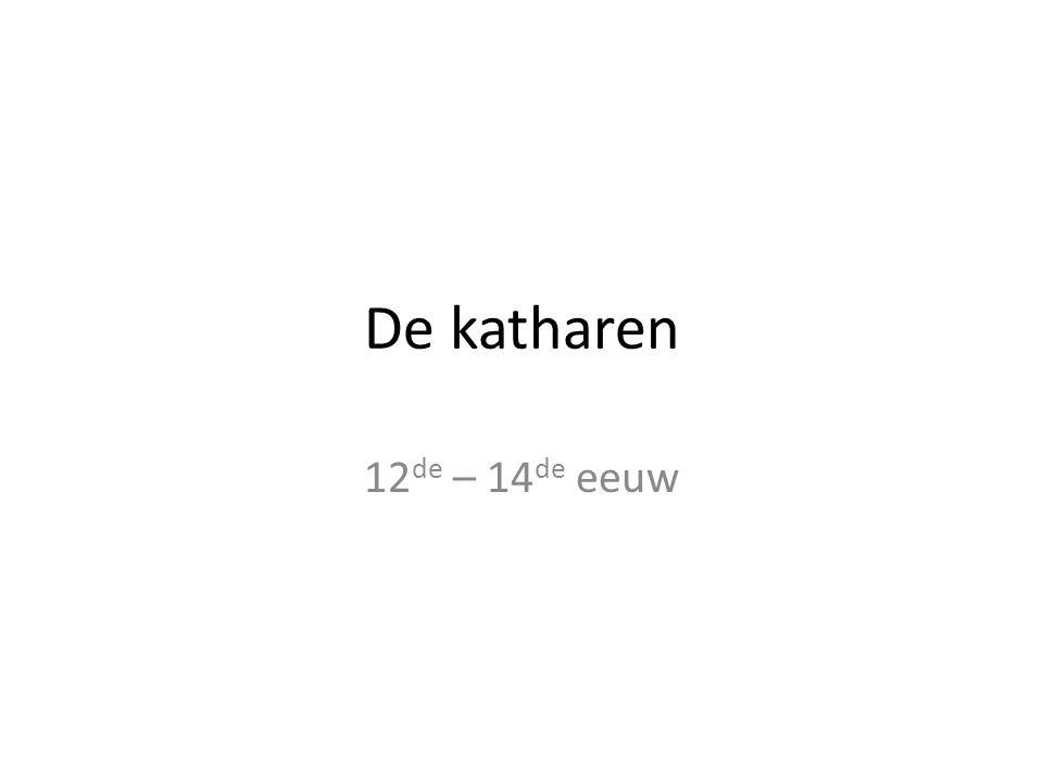 De katharen 12 de – 14 de eeuw