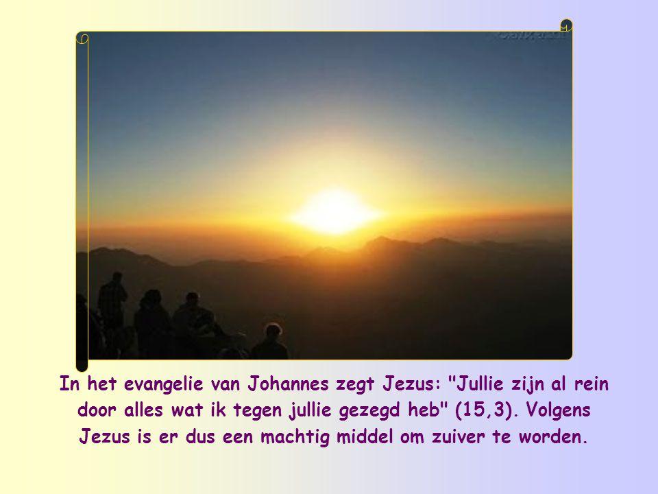 Dan is dat het moment om Hem opnieuw te zeggen: U bent mijn Heer, mijn geluk .