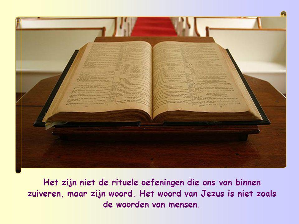 In het evangelie van Johannes zegt Jezus: