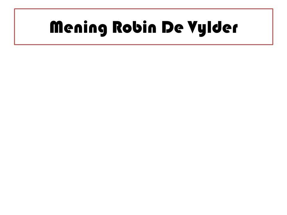 Mening Robin De Vylder