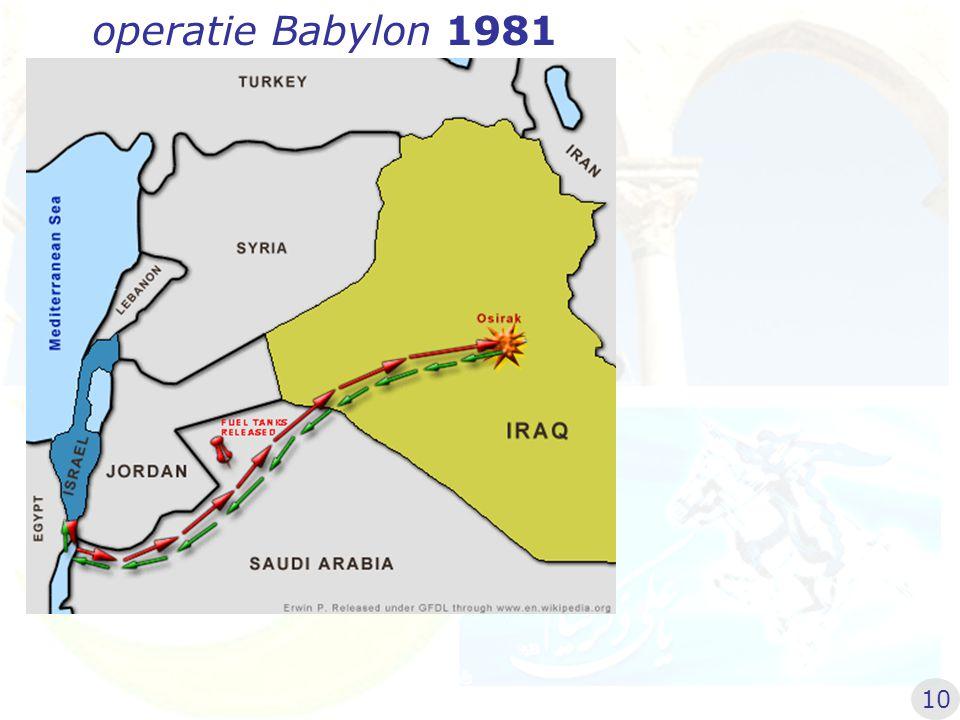 operatie Babylon 1981 10