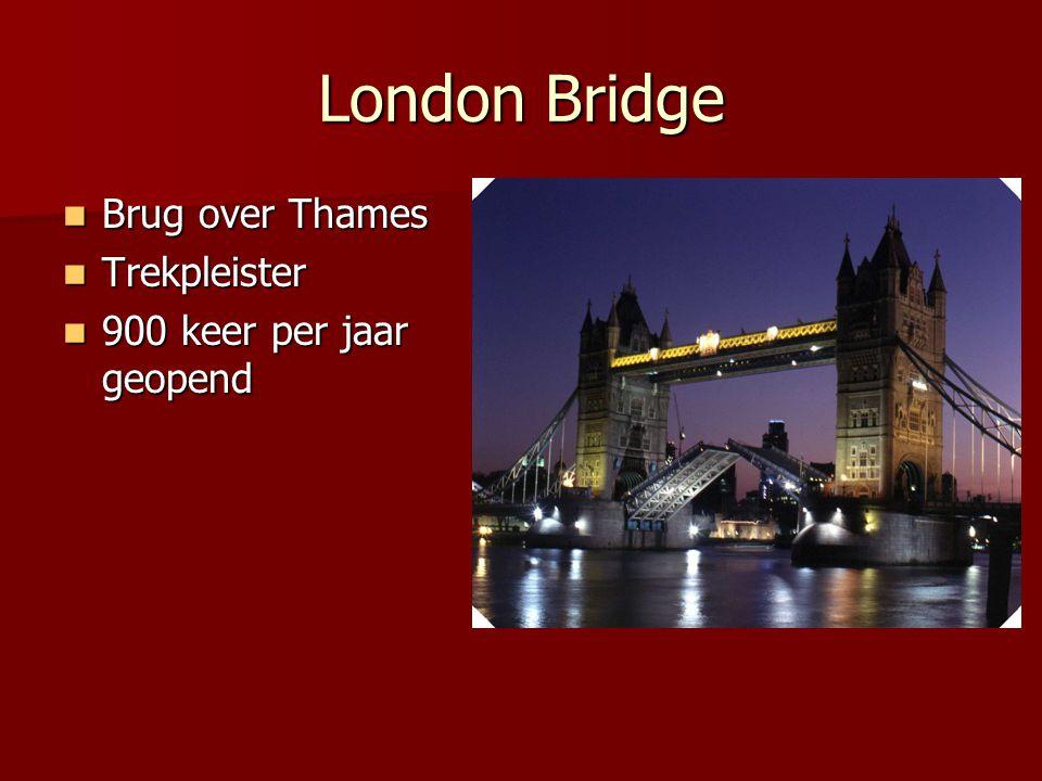 Tower of London Gebouwd: 1078 Gebouwd: 1078 Verscheidene doeleinden Verscheidene doeleinden Constable of the tower + Beefeaters Constable of the tower