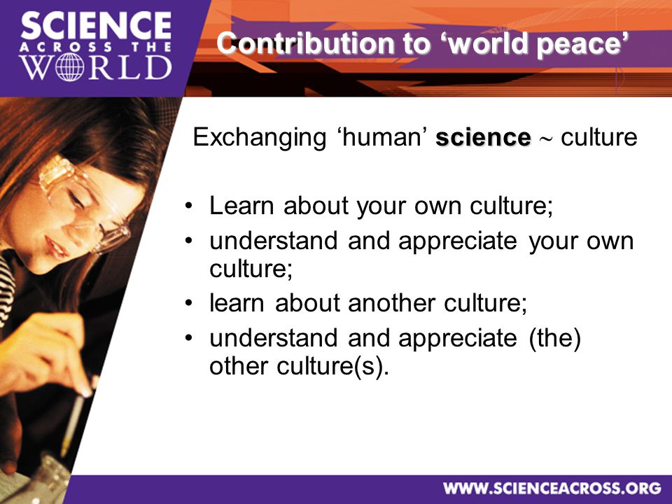 26 http://www.scienceacross.org SAW site
