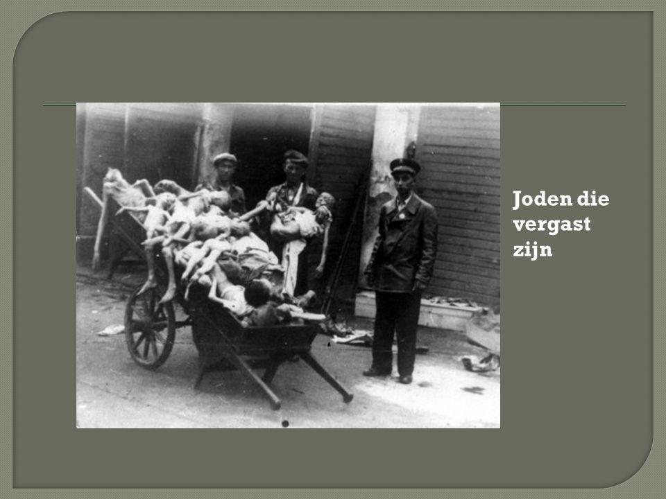 Joden die vergast zijn