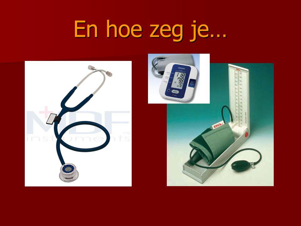 De stethoscoop
