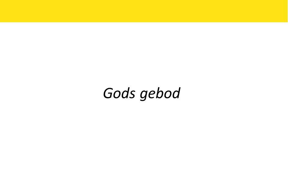 Gods gebod
