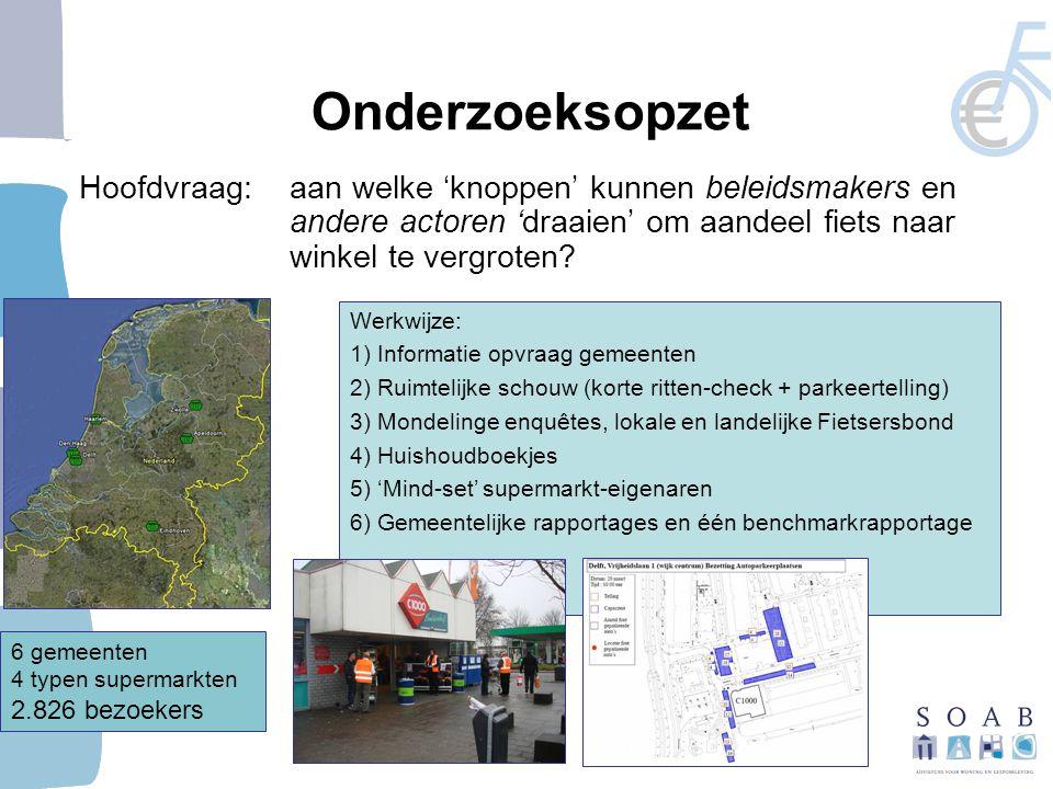 Vervoerwijzekeuze naar hiërarchie Groen: lager schaalniveau en binnenstad = hoger aandeel LV Rood: stadsdeel = hoger aandeel auto