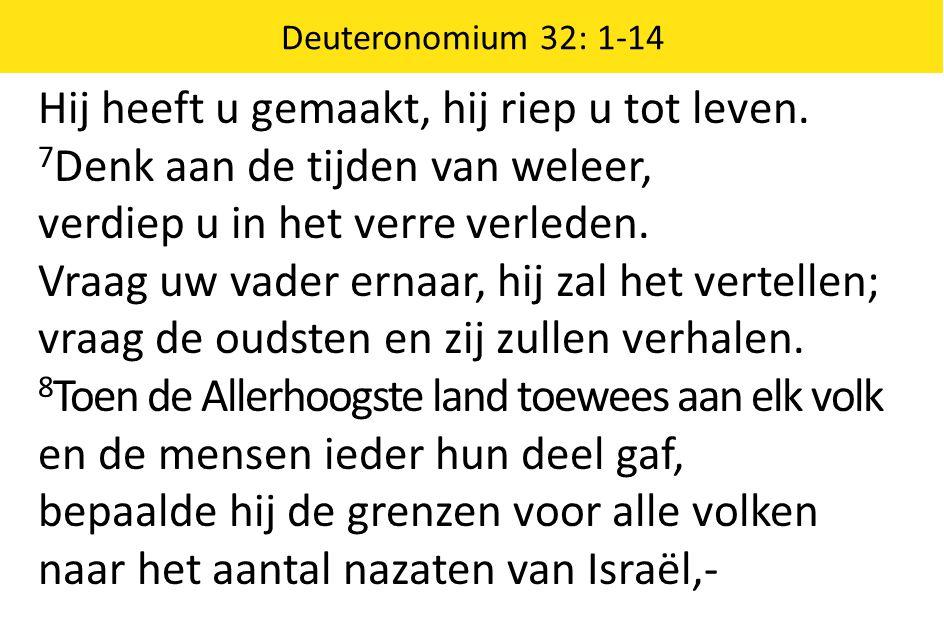 9 want voor de HEER gold dat volk als het zijne, Jakob was het deel dat hij zichzelf toemat.