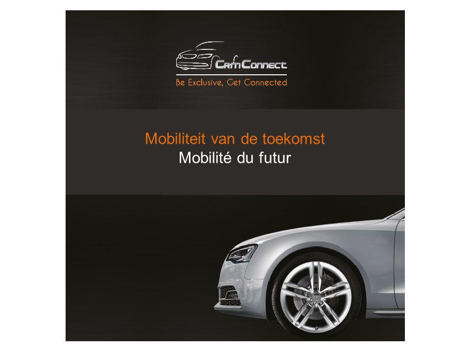 Mobiliteit van de toekomst Mobilité du futur