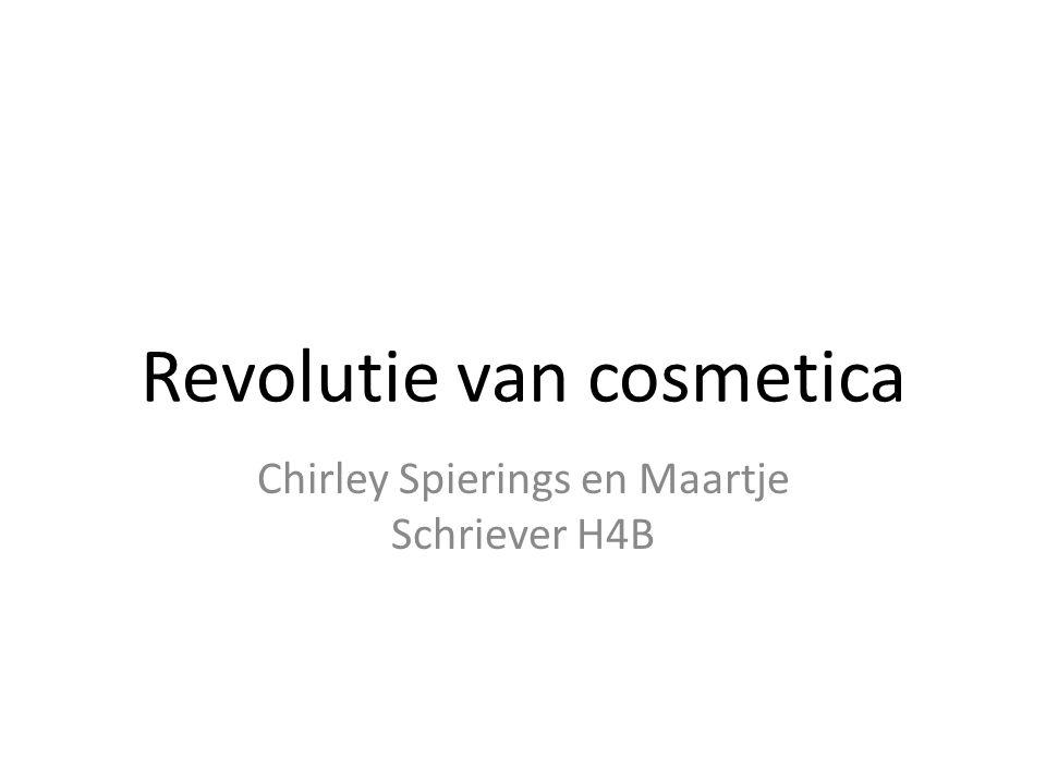 Revolutie van cosmetica Chirley Spierings en Maartje Schriever H4B