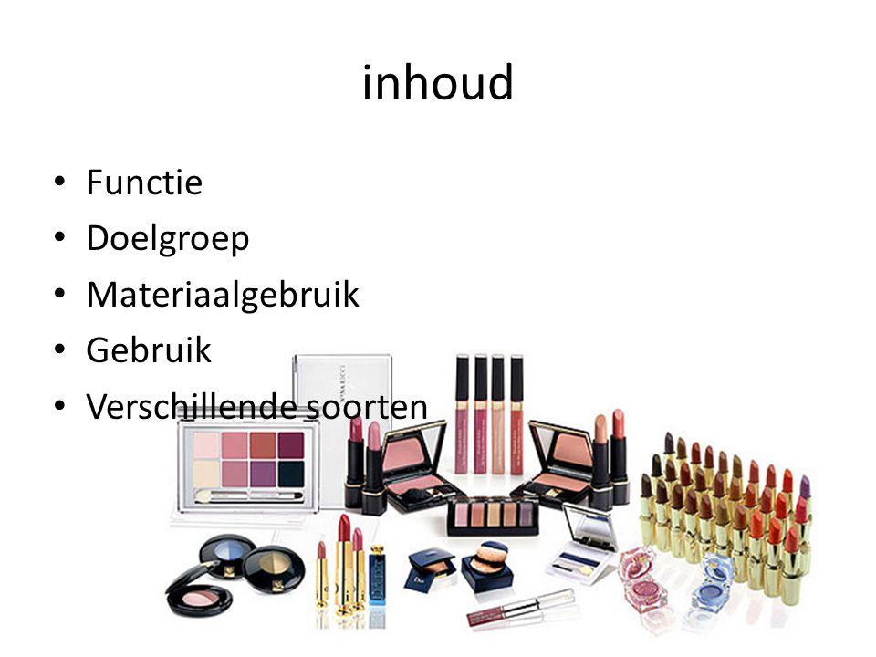 Functie Cosmetica spelen al door de eeuwen heen een grote rol in het leven van mensen.