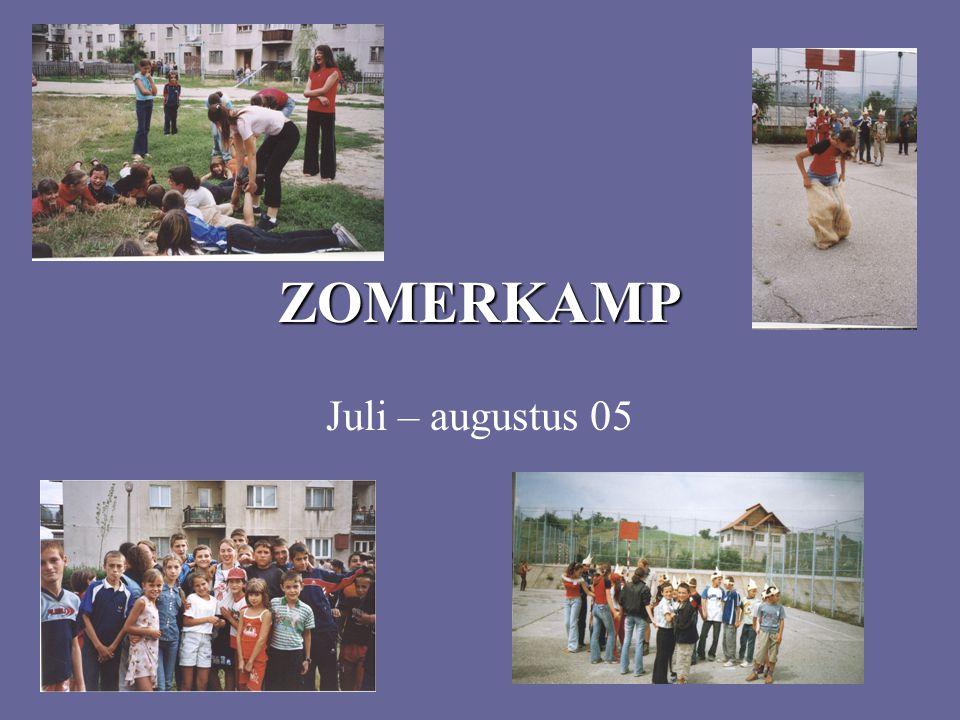 ZOMERKAMP Juli – augustus 05