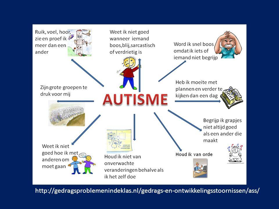 Anders zijn: Kinderen met autisme voelen dit zelf al voordat de omgeving dit voelt; Maatschappij reageert negatief op 'anders zijn'; => ze proberen het te verbergen => besef is pijnlijk.