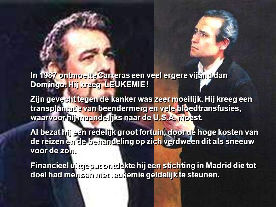 Dit is een geschiedenis die weinig mensen kennen… Het gaat over twee van de drie beste tenoren : LUCIANO PAVAROTTI, PLACIDO DOMINGO en JOSÉ CARRERAS,
