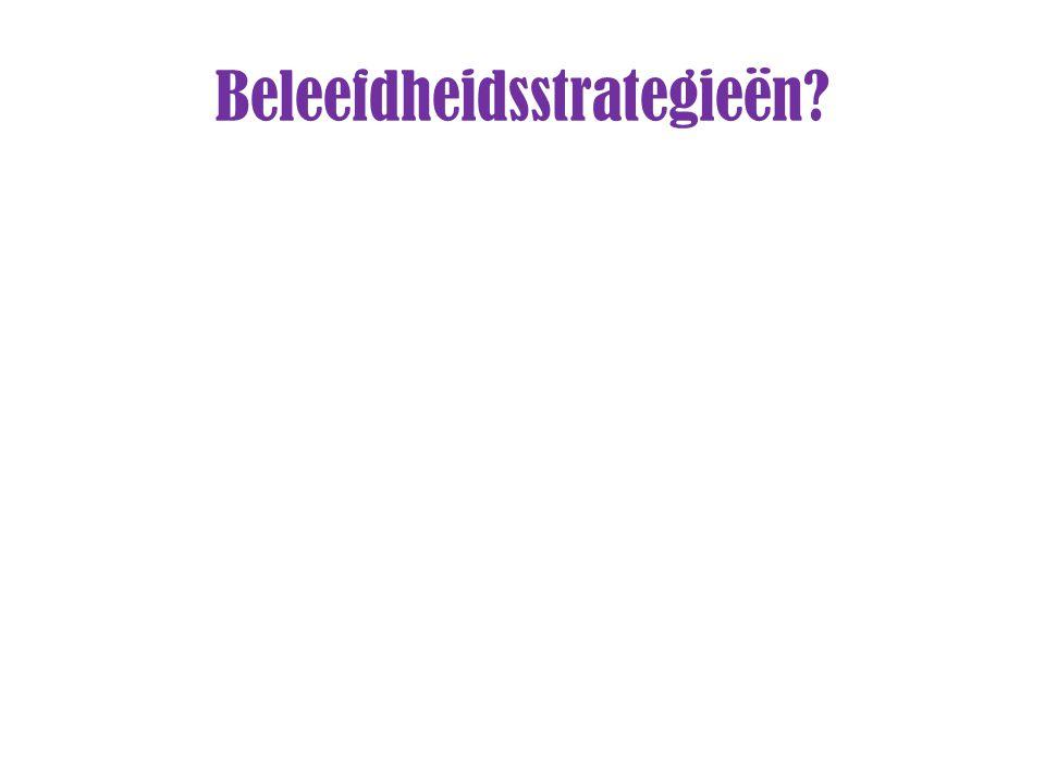 Beleefdheidsstrategieën?