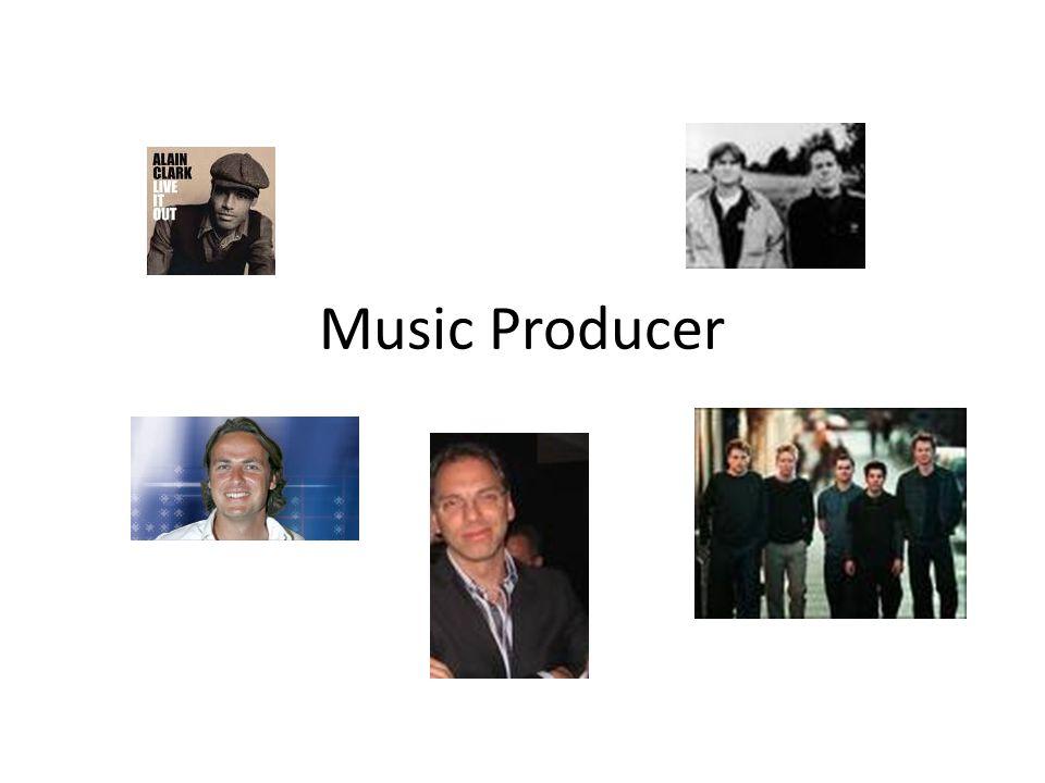 Producer Entertainment Film/TVGames Music