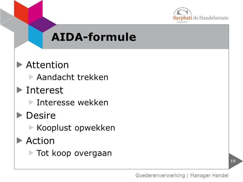 PDCA-cyclus 11 Goederenverwerking | Manager Handel