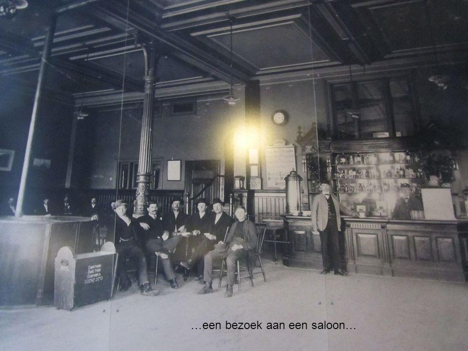 …een bezoek aan een saloon…