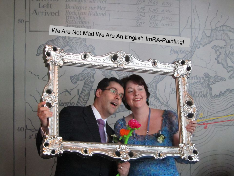 We Are Not Mad We Are An English ImRA-Painting!