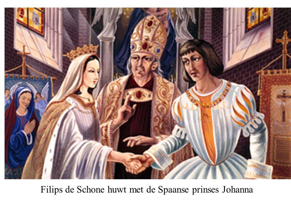 Filips de Schone huwt met de Spaanse prinses Johanna