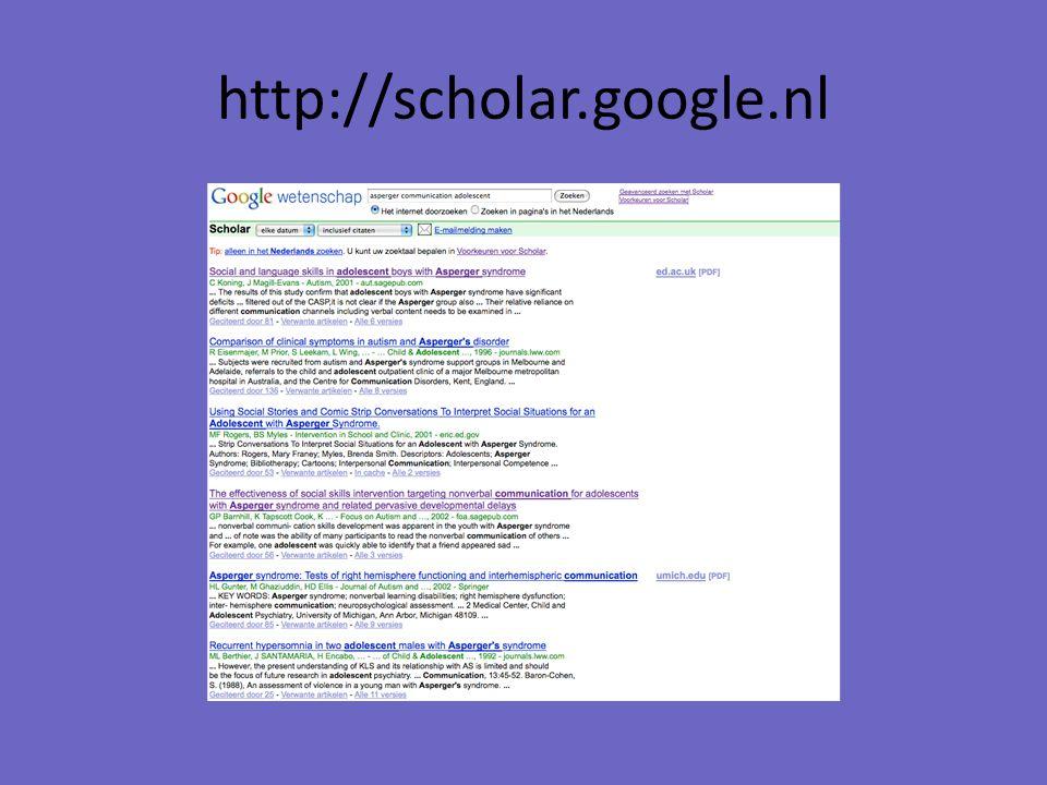 http://scholar.google.nl