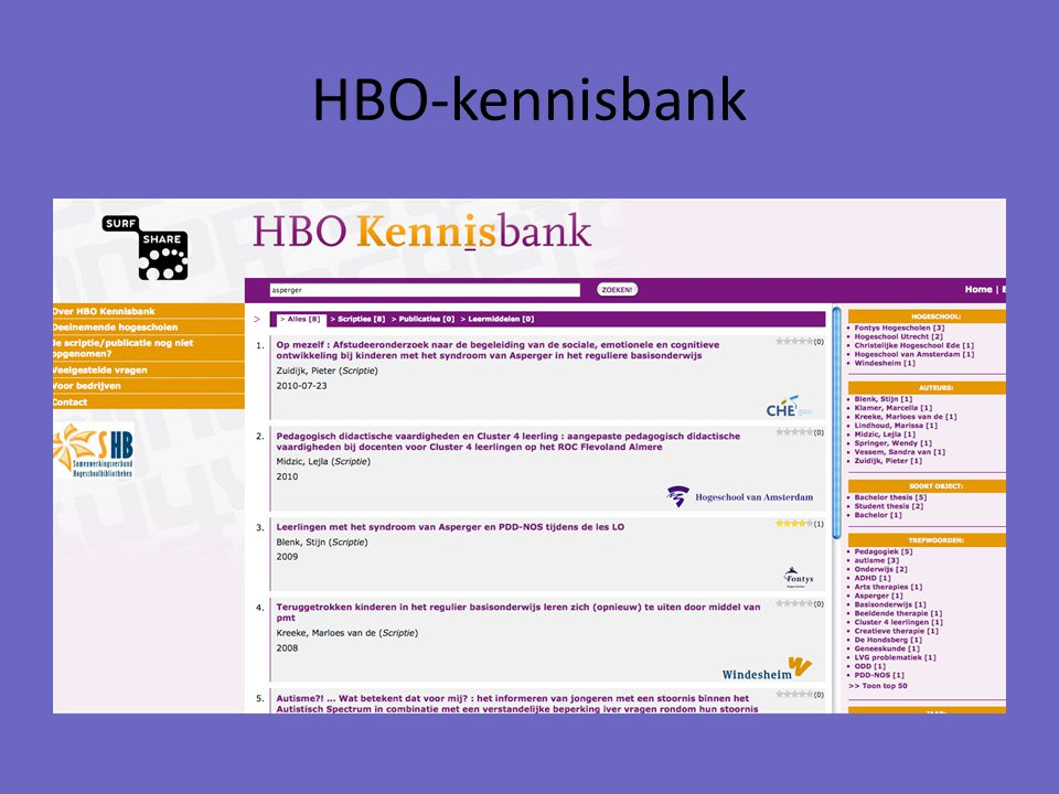 HBO-kennisbank